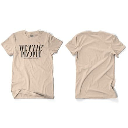 Wethepeople Series T-Shirt Sand Large